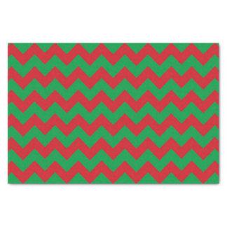 Papel seda verde rojo del modelo del galón papel de seda pequeño