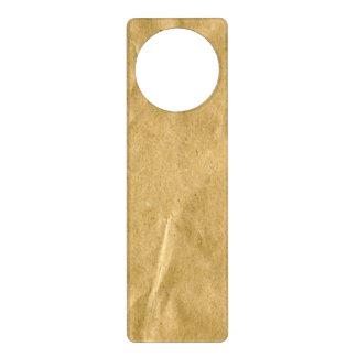 Papel texturizado colgador para puerta