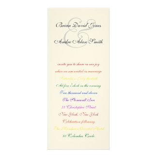 papel texturizado orgullo gay del arco iris LGBT d Comunicado Personalizado