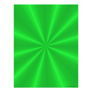 Papel verde del libro de recuerdos del satén membrete a diseño