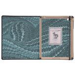 Papel veteado antigüedad elegante del vintage del  iPad protector