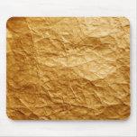 papel viejo alfombrillas de ratón