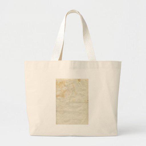 Papel viejo bolsa de mano