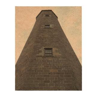 Papel viejo del corcho de la foto del faro de papel de corcho para fotos
