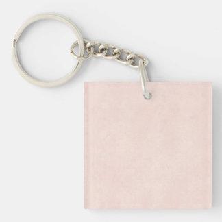 Papel viejo del rosa color de rosa del vintage de  llavero
