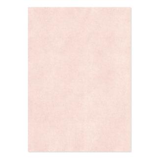 Papel viejo del rosa color de rosa del vintage de  tarjetas de visita grandes