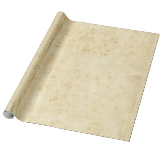 Papel viejo en blanco antiguo manchado rústico papel de regalo