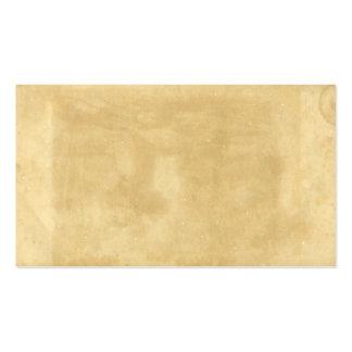 Papel viejo manchado envejecido vintage en blanco tarjetas de visita