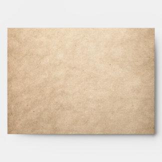 Papel viejo sobres