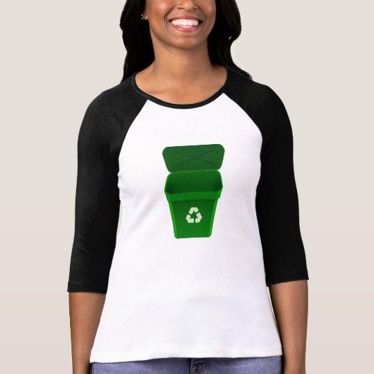 Papelera de reciclaje playera