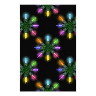 Papeles de Scrapbooking de las luces de navidad Papeleria