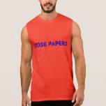 papeles flojos camisetas