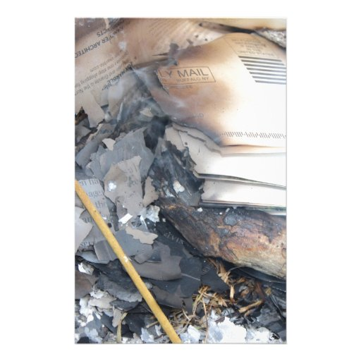 Papeles quemados papeleria