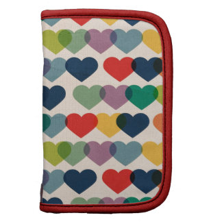 PAPER019 COLORFUL HEARTS PATTERNS TEMPLATES LAYERE PLANNERS