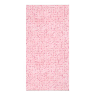 PAPER040 PINK FLORAL BACKGROUNDS GIRLY HAPPY SPRIN CARD