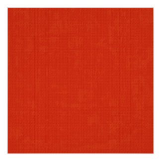 paper073 PAPER RED STRAWBERRY CHERRY RED TEXTURED Posters