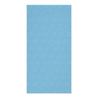 paper074 BABY SKY BLUE CIRCLE PATTERNED TEXTURED Card
