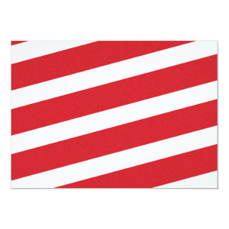 PAPER092 RED CREAMY WHITE CANDY CANDYCANE STRIPES CARD