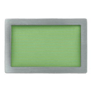 paper107 THIN GREEN GRASS STRIPES PATTERN LUSH BAC Rectangular Belt Buckles