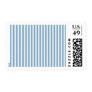 paper152 LIGHT BLUE WHITE PAPER STRIPES PATTERN BA Stamp