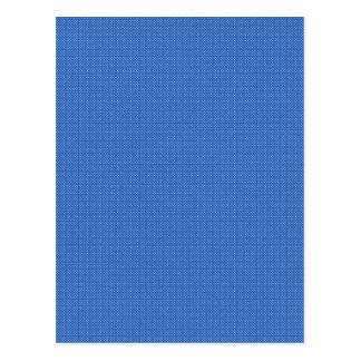 paper198 JEAN-JACKET BLUE BACKGROUND TEXTURED PATT Postcard