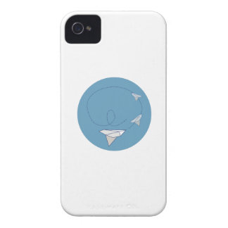Paper Airplane iPhone 4 Cases