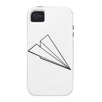 Paper Airplane iPhone 4 Cover