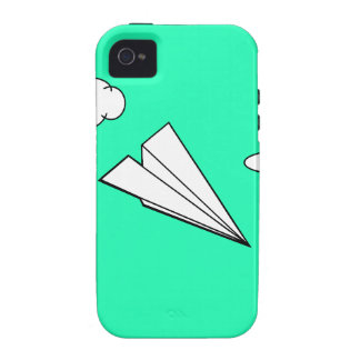 Paper Airplane in the Sky Case-Mate iPhone 4 Case