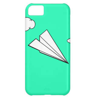 Paper Airplane in the Sky iPhone 5C Case