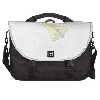 Paper Airplane Laptop Commuter Bag