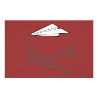 Paper Airplane Overactive Imagination