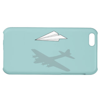 Paper Airplane Overactive Imagination iPhone 5C Covers