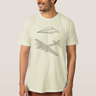 Paper Airplane Overactive Imagination T Shirts
