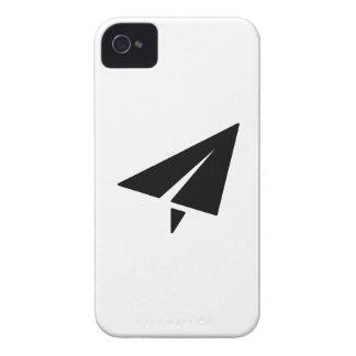 Paper Airplane Pictogram iPhone 4 Case