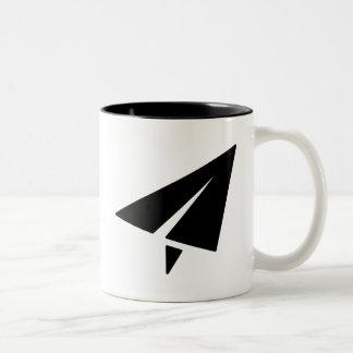 Paper Airplane Pictogram Mug