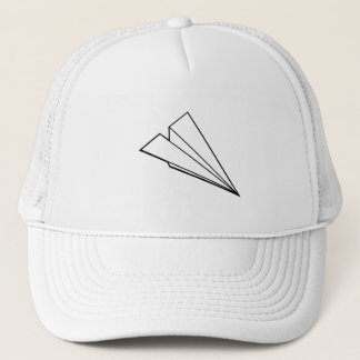 Paper Airplane Trucker Hat