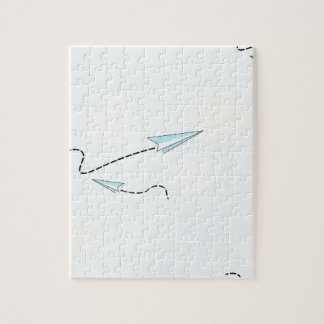 paper airplanes jigsaw puzzle