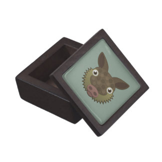 Paper Armadillo Jewelry Box
