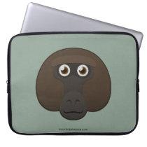 Paper Baboon Laptop Sleeve