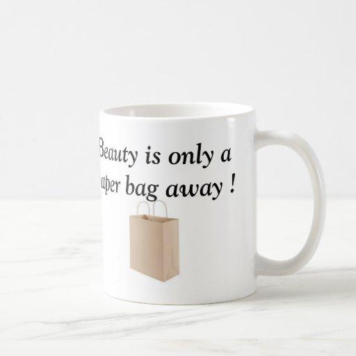 Paper bag coffee mug