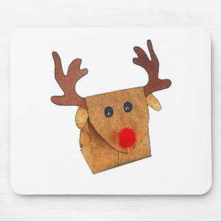 PAPER BAG RUDOLPH MOUSE PAD