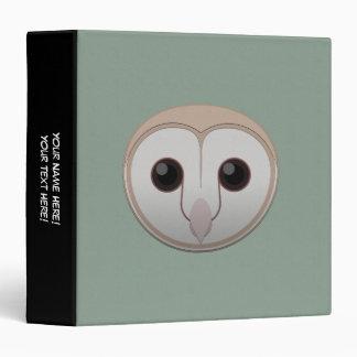 Paper Barn Owl Binder