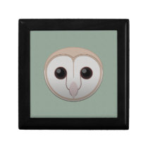 Paper Barn Owl Hinged Gift Box