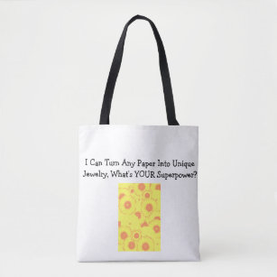 Paper Bead Superpower Tote