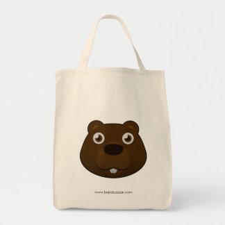 Paper Beaver Tote Bag