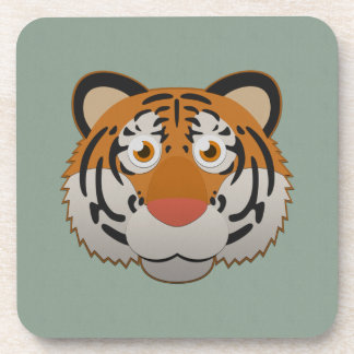 Paper Bengal Tiger Drink Coaster