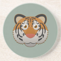 Paper Bengal Tiger Sandstone Coaster