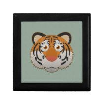 Paper Bengal Tiger Hinged Gift Box