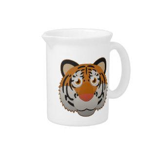 Paper Bengal Tiger Pitchers