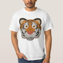 Paper Bengal Tiger T-Shirt